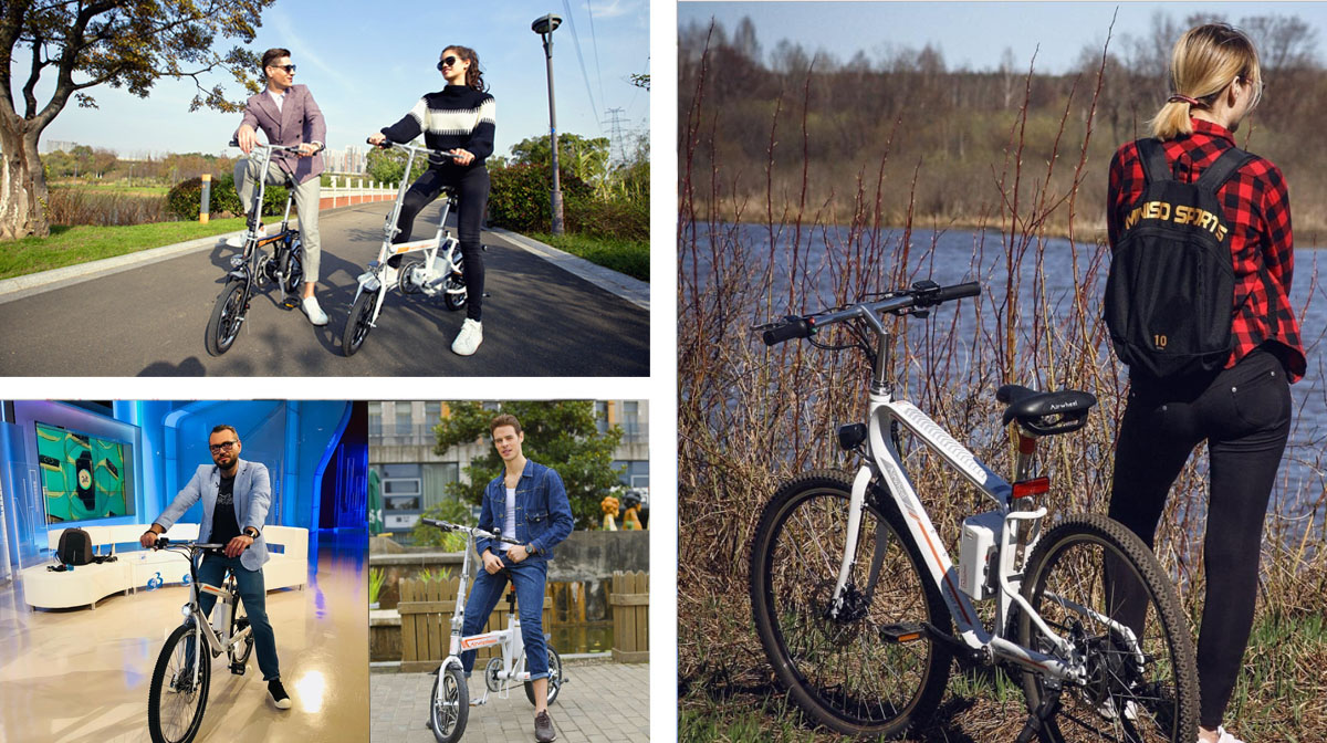 Airwheel-R_series Electric Bike